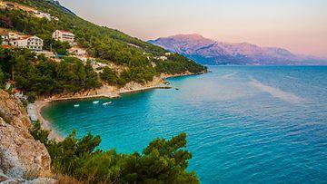 Kroatia rannikko