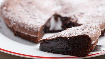 mutakakku suklaakakku mud cake