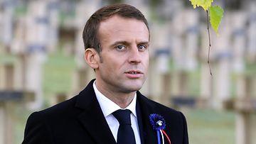 Emmanuel Macron Epa