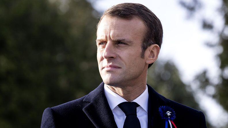 Emmanuel Macron 2 EPA