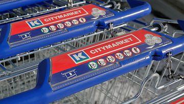 AOP k-citymarket ruokakauppa ostoskärry