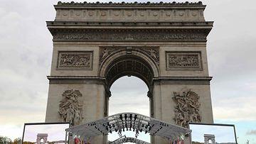 ranska pariisi riemukaari ensimmäinen maailmansota