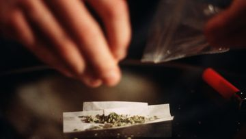 AOP cannabis kannabis marihuana savuke sätkä jointti huumeet kuvitus 25.A1J3E6