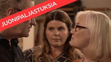 Salkkarit-hahmot sodan partaalla – Ismon ja Ullan välit ovat pahasti koetuksella!