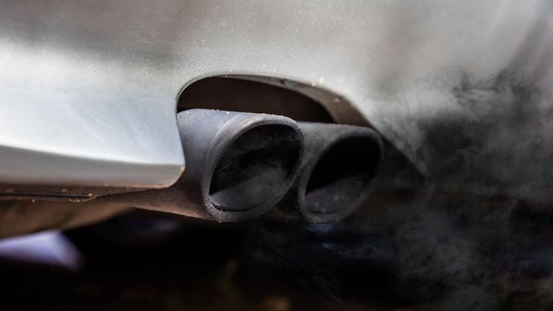diesel pakokaasu päästöt pakoputki