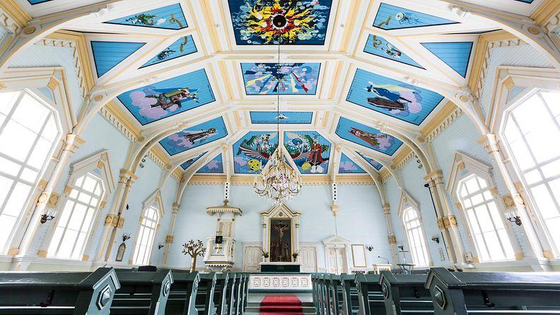 AOP, kirkko, toivakka, seurakunta, toivakan kirkko