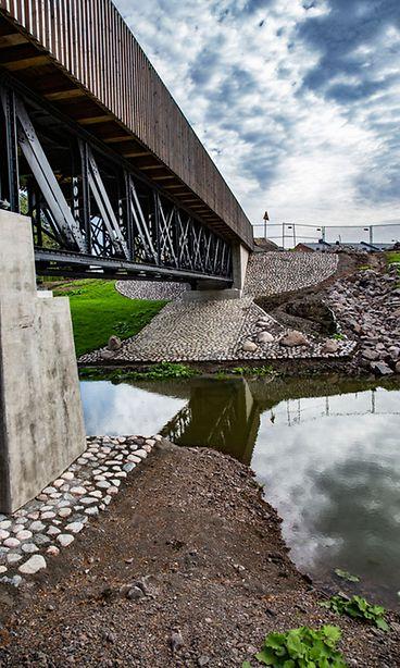 Kouvolan asuntomessut silta Kuva: Kouvola.