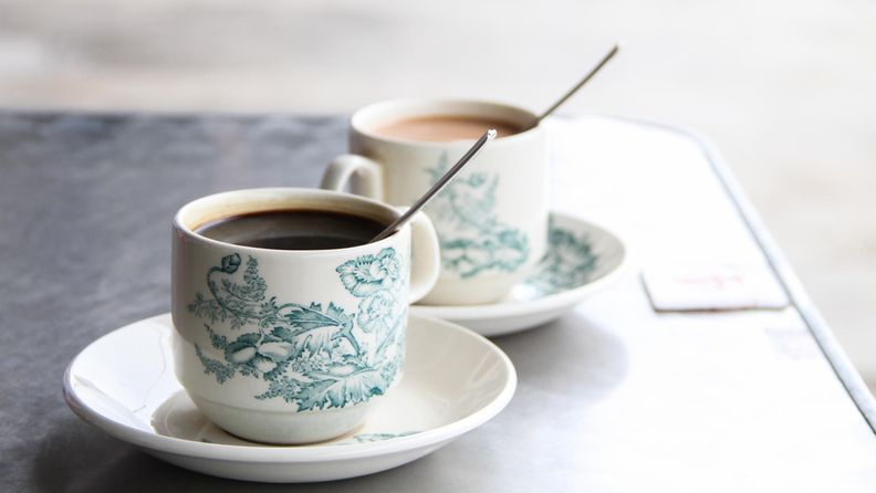 kahvi tee juomat
