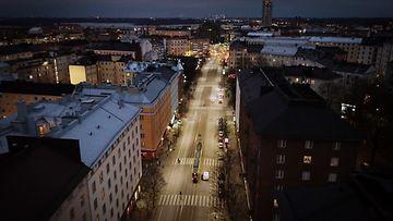 Helsinki Kallio ilmakuva