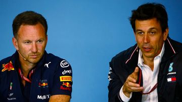 Christian Horner & Toto Wolff