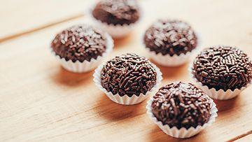 tryffelit suklaa