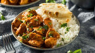 tikka masala intialainen ruoka