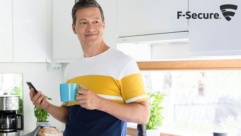 F-Secure kuva kaupalliset mainos