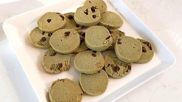vihreät pikkuleivät heidi leipoo