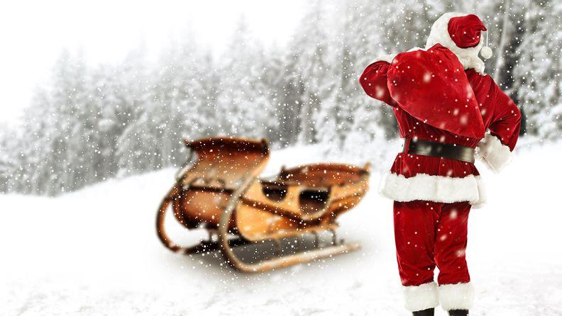 joulupukki reki