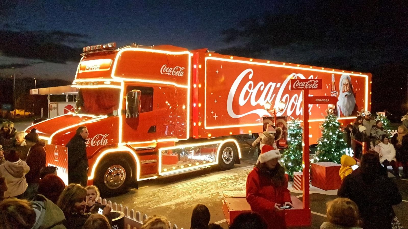 Coca Cola Joulurekka