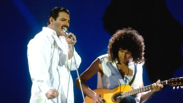 Queen Freddie Mercury ja Brian May
