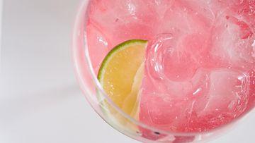 vaaleanpunainen gini