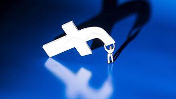 Facebook logo AOP