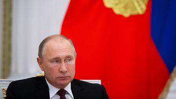 Vladimir Putin EPA