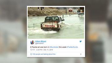 kurdistan toyota twitter