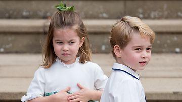 prinssi george prinsessa charlotte eugenien häissä