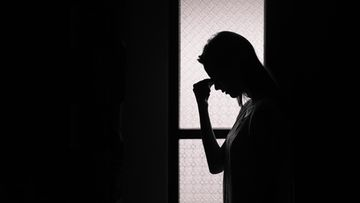 nainen, suru, masennus, ahdistus