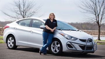 hyundai elantra million mile farrah haines