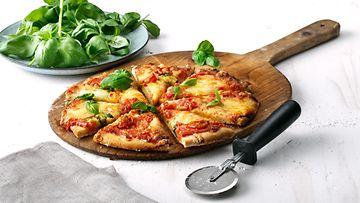 Semper pizza gluteeniton Mainos