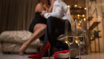 seksi, pariskunta, kuohuviini