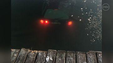kemiönsaari auto meressä