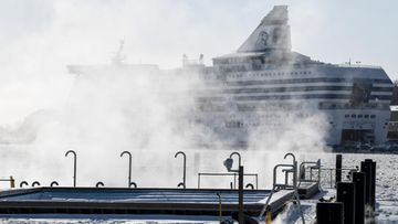 AOP laiva risteily talvi satama tallink silja ruotsinlaiva Helsinki