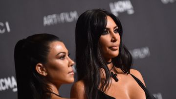Kourtney Kardashian ja Kim Kardashian