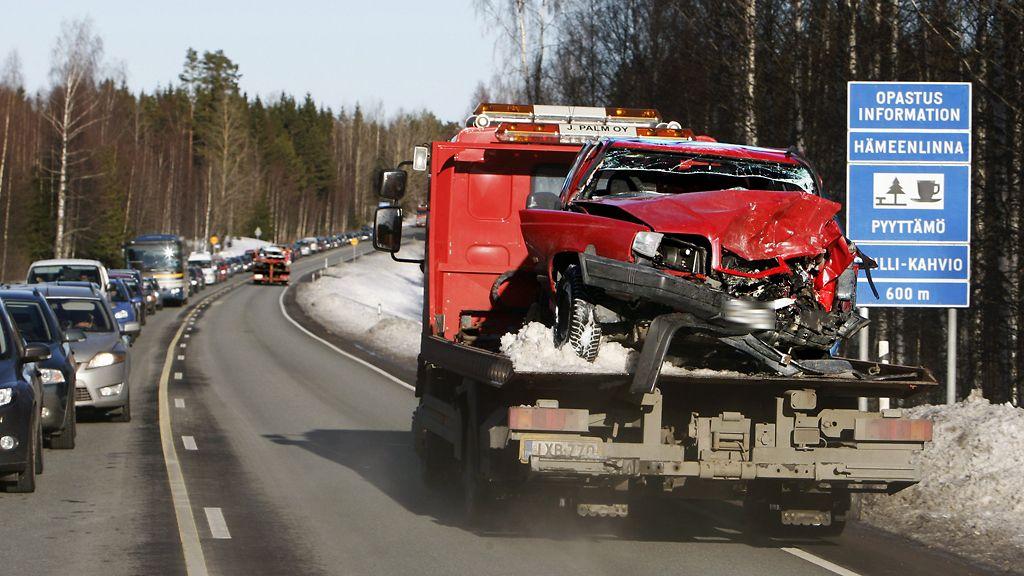 Kari Hotakainen Onnettomuus