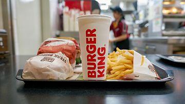 burger king hampurilainen pikaruoka