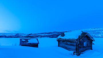 utsjoki sininen talvi