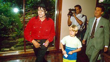 Macaulay Culkin ja Michael Jackson