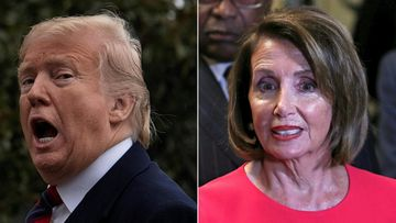 Donald Trump ja Nancy Pelosi