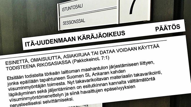 takavarikko - viisumit