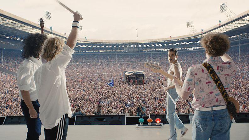 Bohemian Rhapsody 2018: Queen Live Aidissa
