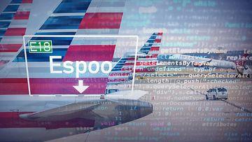 AOP, lentokone, american airlines, yhdysvallat, lennonjohto, lentokenttä