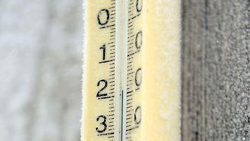AOP, pakkanen, mittari, lämpömittari, talvi, kylmä