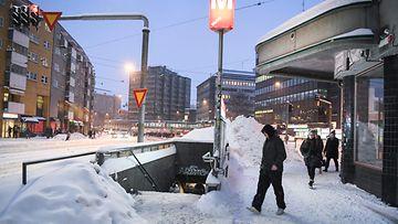 Helsinki sörnäinen metro