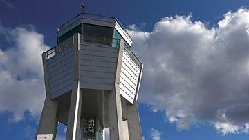 Lennonjohtotorni AOP Lentokenttä lennonjohto