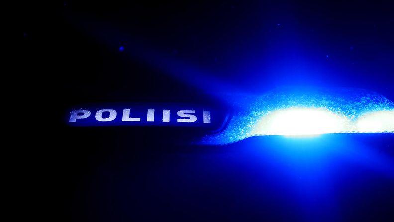 poliisi poliisiauto kuvitus aop
