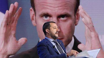 AOP Salvini Macron Italia Ranska