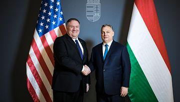 Mike Pompeo Unkari EPA