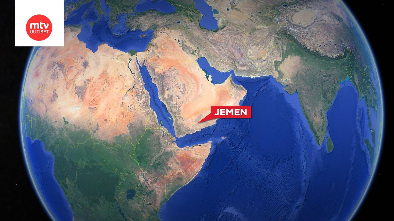 Saudi Arabian Ilmavoimien Kone Putosi Jemenissa Sen Jalkeen Yli