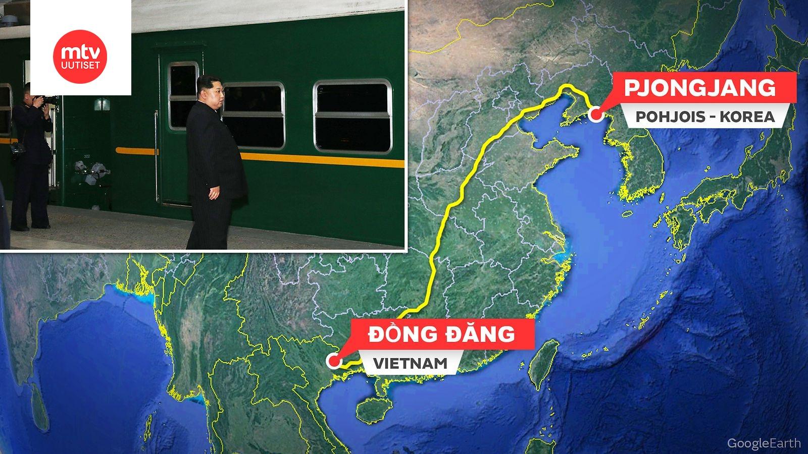 Maailman Johtava Junankayttaja Kim Jong Un Lahtee Pian