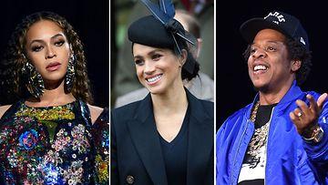 Beyoncé herttuatar Meghan Jay-Z